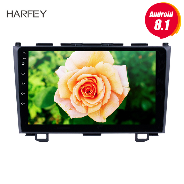 "Harfey 9"" Android 6.0/7.1/8.1 Car Radio GPS Head Unit For 2006 2007 2008 2009 2010 2011 Honda CRV 2Din Multimedia Player Stereo"