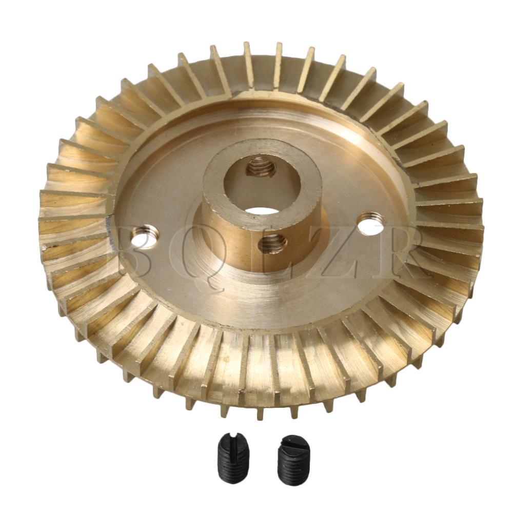 Home Bqlzr 12mm Innen Loch Wasserpumpe Ersatzteil Solt Loch Double Side Messing Laufrad Rad 70mm Durchmesser Goldene Durch Wissenschaftlichen Prozess