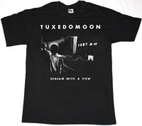 TUXEDOMOON SCREAM WITH A VIEW MENS BLACK T SHIRT NEW WAVE MINIMAL COMPACT CHROME 100 Cotton