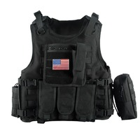Military Tactical Vest Camouflage Body Armor Sports Wear Hunting Vest Army Molle police Vest with 5 color