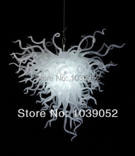 New Arrival Custom Art Glass White Pendant Light