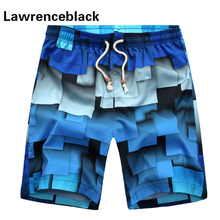 2017 Beach Shorts Swimmings Boardshorts Breathable Comfort Summer Geometric Wear Men Casual Leisure Surfs Wild Shorts Male 275