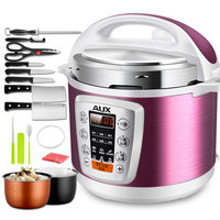Electric pressure cooker 5L smart intelligent rice cooker Household 0 24 hours non stick soup stew pot Keep warm 220V EU US