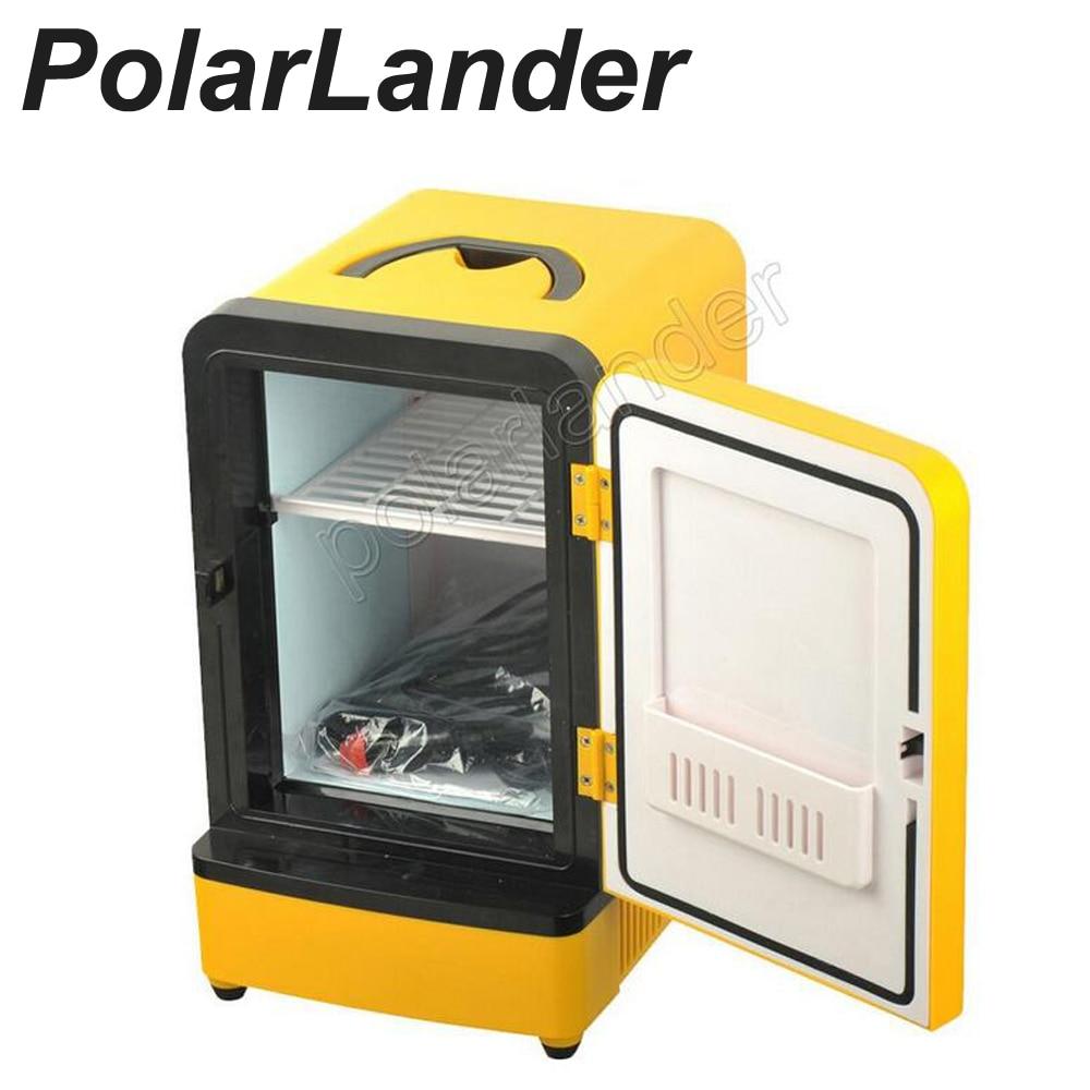 2016 New mini Car Freezer Refrigerator Car Refrigerator 12V 7L Free Shipping