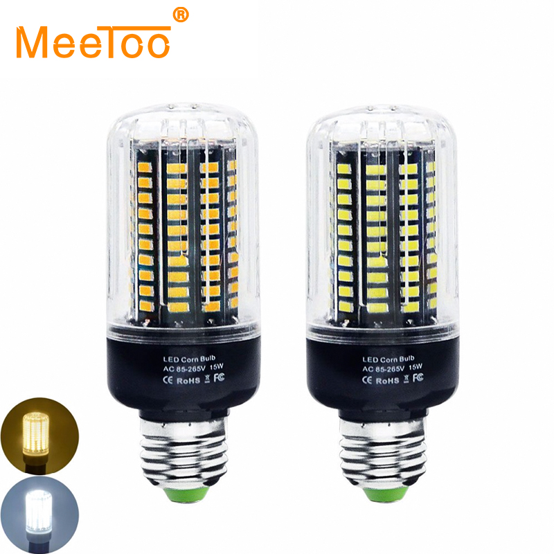 buy 15w led bulb e27 smd5736 corn lamp ac100v 120v 220v no flicker constant. Black Bedroom Furniture Sets. Home Design Ideas