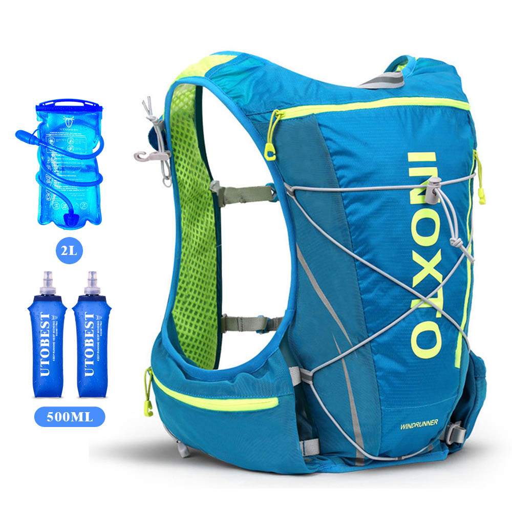 10L Running Bag Bicycle Backpack Cycling Run Bag Rucksack Hydration Men Sport Bags Light Waterproof Riding Bike Back Pack