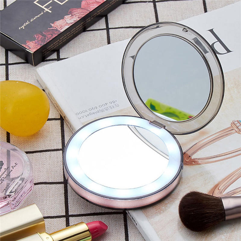 Makeup vanity tables Dresser for bedroom set LED Light Makeup Mirror 3 Times Magnifying Glass Induction Lighting Makeup Mirror