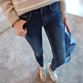 2016 Women Amercian Stretch Pencil Jeans High Waisted Jeans Denim Pants Cotton Womens Long Casual Skinny Jeans pants
