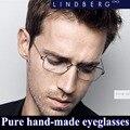 Новый: Творческий безвинтовые очки бренда очки кадров мужчины близорукость сверхлегкий персонализированные очки Бизнес