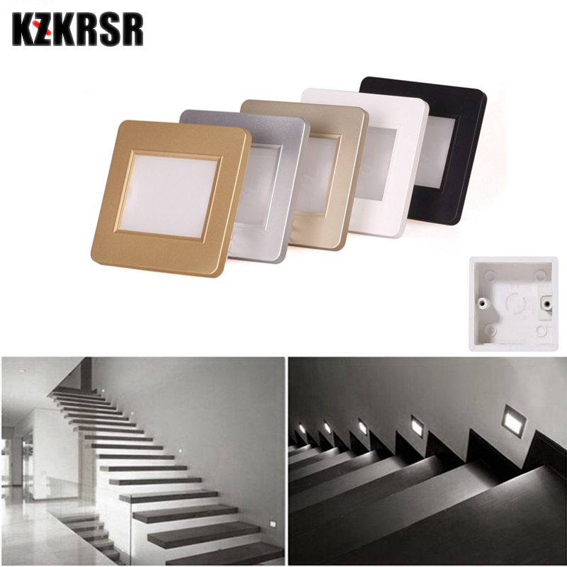 Led Indoor Wall Lamps Competent 10pcs/lot Night Lights Pir Motion Human Body Induction Radar Sensor Led Stair Step Ladder Indoor Wall Lamps 86 Bottom Box Lights & Lighting