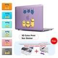 Cute Minions Jeans Insert Purple Hard Print Cover Case Skinfor Macbook Air 11 13.3 13 15 Inch Macbook Pro Retina New Macbook 12