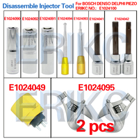 ERIKC Liseron Common Rail Injector Dismantling and Diesel Injector Removal Auto Body Repair Tools Total 11 pieces