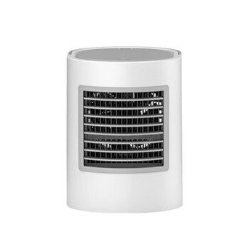 Овальный 7 цветов свет кондиционер Охлаждающие вентиляторы кондиционер портативный Настольный вентилятор воздушный охладитель, увлажните...