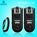 RF-603II C1 Wireless Remote Flash Trigger for CANON 60D/400D/500D/1000D