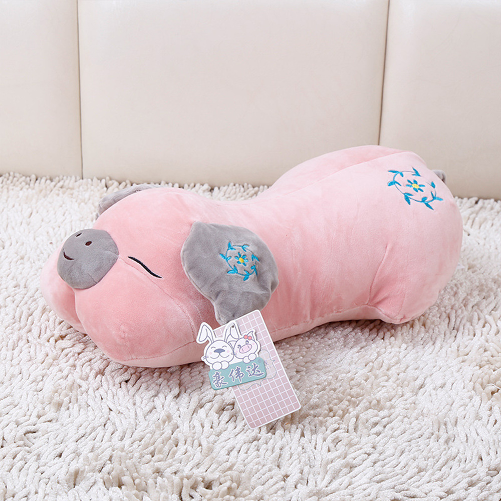 все цены на  32CM Kawaii Pig/Dog Plush Toys Stuffed Doll Stuffed Animals Dolls Soft Kids Toys for Children Best Gift Brinquedos  онлайн