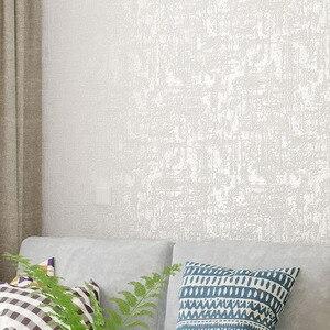 Image 1 - לבן מרקם פשוט מוצק צבע טפט מודרני רגיל קיר נייר בית תפאורה שינה חי חדר רקע