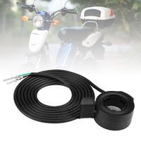 160 cm Fiets Speed Control 3 Draden Thumb Throttle op 160mm Handvat voor Elektrische Fiets Scooter E-bike onderdelen