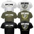 Nuevo Sistema de Autodefensa Combate de LAS FUERZAS de defensa de Israel de Krav Maga MMA Martial camiseta Tee Negro/Blanco/Verde Del Ejército 100% Algodón Camiseta camisa