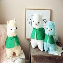 цена Super cute 35/50cm cartoon alpaca plush doll toy cloth sheep soft plush animal plush birthday Christmas baby child children онлайн в 2017 году
