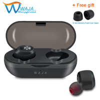 TWS Wireless Bluetooth headset 5,0 Mini Sport Kopfhörer IPX5 Sweatproof Tiefe Bass Stereo Ohrhörer 500 Mah Lade Fall mit Mic