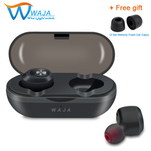 Get more info on the TWS Wireless Bluetooth headset 5.0 Mini Sports Earphones IPX5 Sweatproof Deep Bass Stereo Earbuds 500Mah Charging Case with Mic