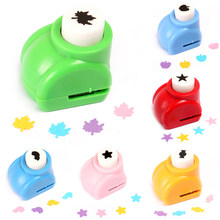 1 PCS Kid Hole Punch Mini Printing Paper Hand Shaper Scrapbook Tags Cards Craft DIY Punch Cutter Tools(China)