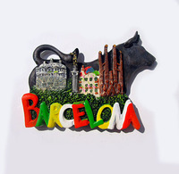 Barcelona Spain The City Of Bullfighting Attractions Tourist Souvenirs
