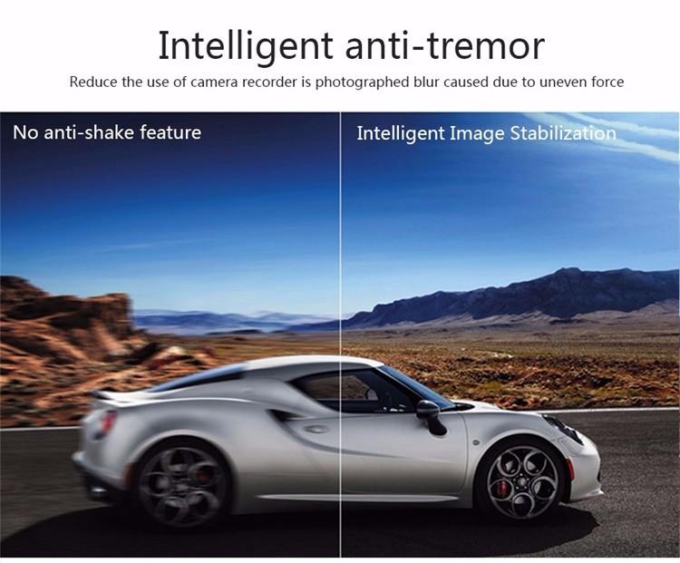 FHD 1080P car camera 4.3-inch Mirror Rearview screen dual lens Car DVR Night Vision rearview mirror auto dvrs Stop Recording 9