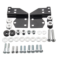 High quality Detachables Front Docking Hardware Set Kit for Harley Touring Road for King Electra Street Glide 1997 2008