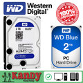 Western Digital WD Синий 2 ТБ hdd sata 3.5 дискотека duro interno внутренний жесткий диск жесткий диск жесткий диск disque мажор рабочего hdd 3,5 ПК
