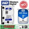 Western Digital WD Azul 2 TB hdd sata 3.5 disco duro interno disque dur disco rígido disco rígido disco rígido interno hdd de desktop 3,5 PC