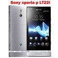 Original Sony Xperia P LT22i LT22 celular Android 8MP WIFI GPS 16 GB interno desbloqueado celular