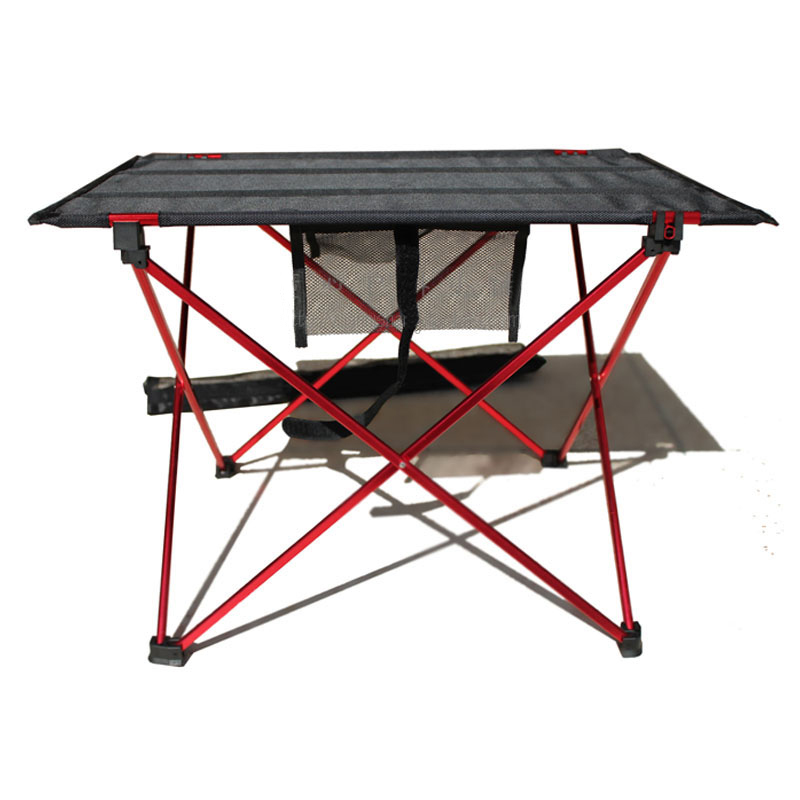 Portable Outdoor Beach Sunbath Picnic Barbecue Folding Table hewolf portable size outdoor camping beach bbq barbecue grill rack household use lightweight folding picnic rack stand well sell