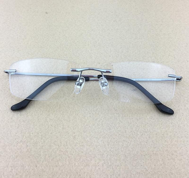 Pure Titanium Myopia Spectacle Frame Տղամարդկանց - Հագուստի պարագաներ - Լուսանկար 2