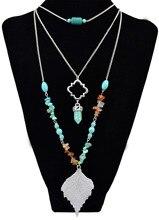 Halskette Perlen Natürliche Anhänger