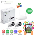 Ipcc cámara ip 2mp 1080 p inalámbrica al aire libre cámara bullet cámara ip wifi seguridad para el hogar sistema de vigilancia de vídeo cctv nvr kits