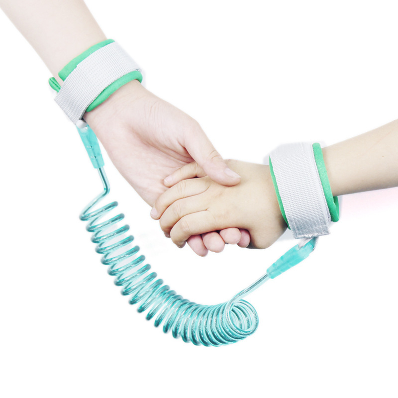 Kids Anti Lost Wrist Link Toddler Leash Safety Harness Strap Rope Outdoor Walking Hand Belt Band Anti-lost Wristband Baby Walker