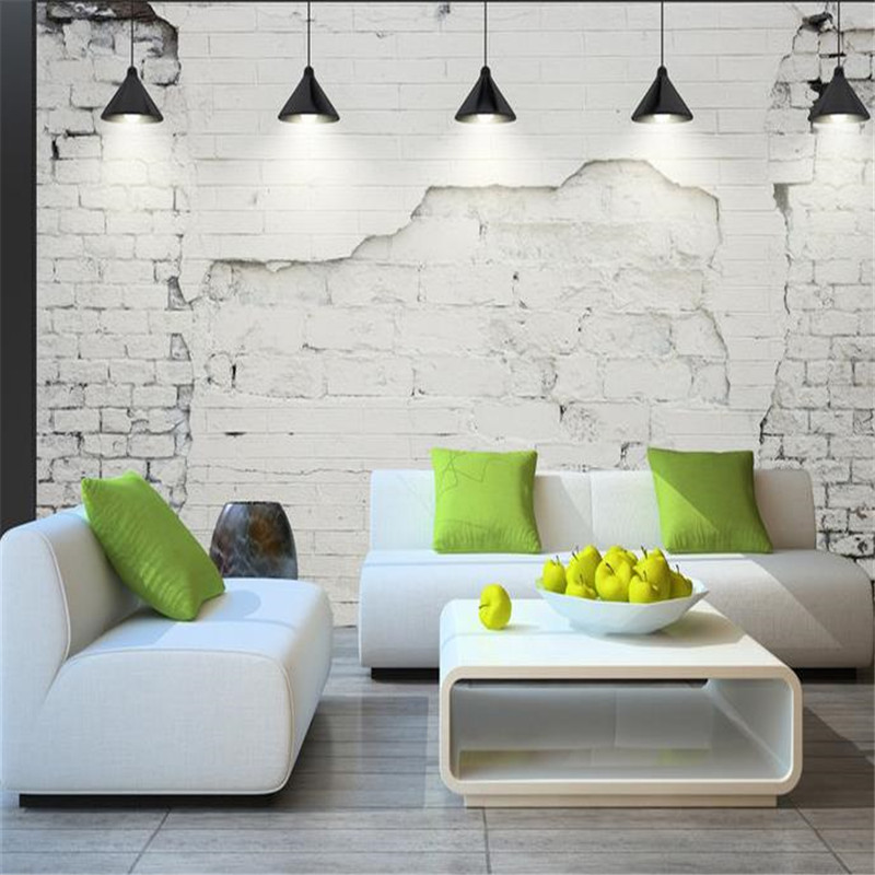Custom Photo Wallpapers for Walls 3D Grey Classic Vintage Wall Murals Brick Stone Wallpapers Modern for Living Room Home Decor high quality 3d flooring custom photo wall mural pebbles carp 3d floor murals wallpapers 3d floor tiles nature wallpapers