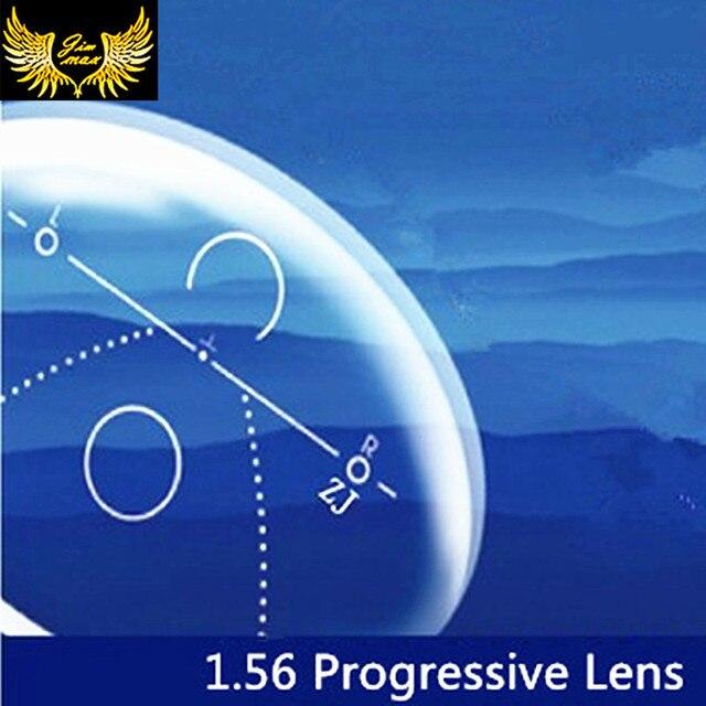 1.56 multi-focal progressive lenses anti scratch UV protection CR39  aspherical resin& anti-radiation lenses for prescripition