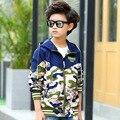 Камуфляж Куртки Для Мальчиков Подростков Мальчик 5 6 7 8 9 10 11 12 13 14 15 Лет Весной Детская Одежда С Капюшоном Пальто Для Мальчика
