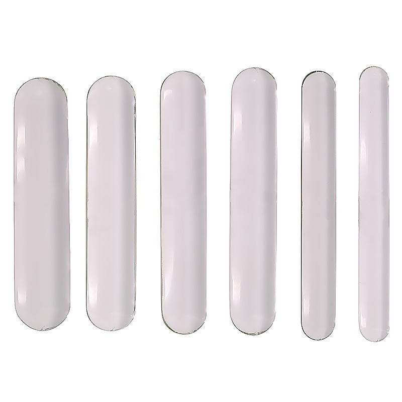 Smooth and rounded double big glass dildo rod glass anal dildo plug sex toys for woman <font><b>lesbian</b></font> sex shop dildos for men gay image