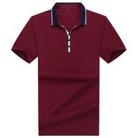 plus 8xl 7xl 6xl 5xl Summer style Men's cotton polo shirts Casual tops tees Shirt Embroidered Polo Slim Polo Shirt Men Clothing