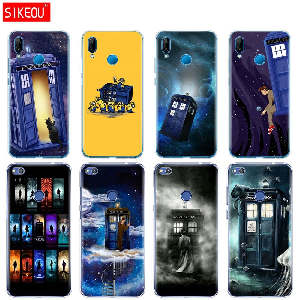 Silicone Coque Case For Huawei P30 P20 P10 P9 Mate 20 10 Lite Pro Nova 3i 4e 3e P Smart 2019 2018 Plus Tardis Box Doctor Who Phone Bags & Cases