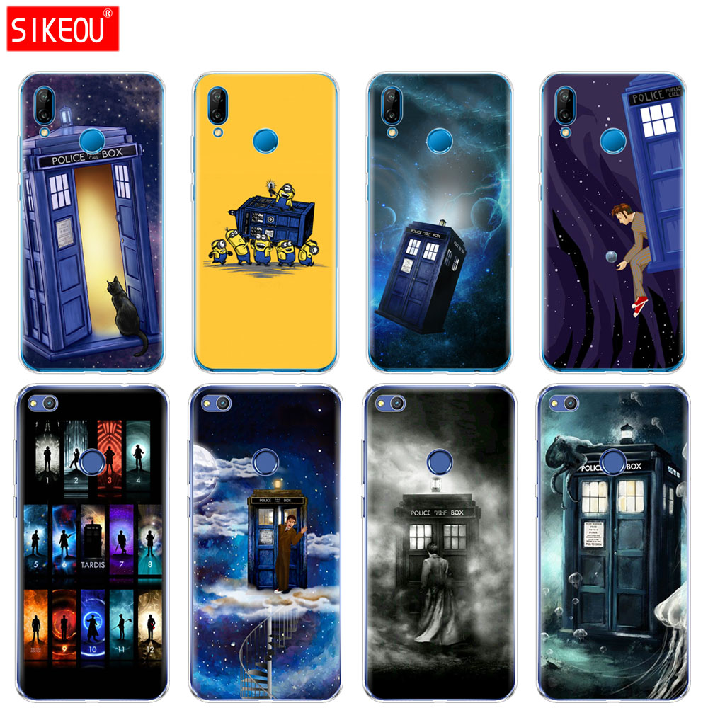 Phone Bags & Cases Silicone Cover Phone Case For Huawei P20 P7 P8 P9 P10 Lite Plus Pro 2017 P Smart 2018 Tardis Box Doctor Who Fitted Cases