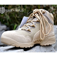 Desert Outdoor Tactical Military Army Ankle Boots Travel Climbing Breathable Men Sport Shoes Men Tactical Boots