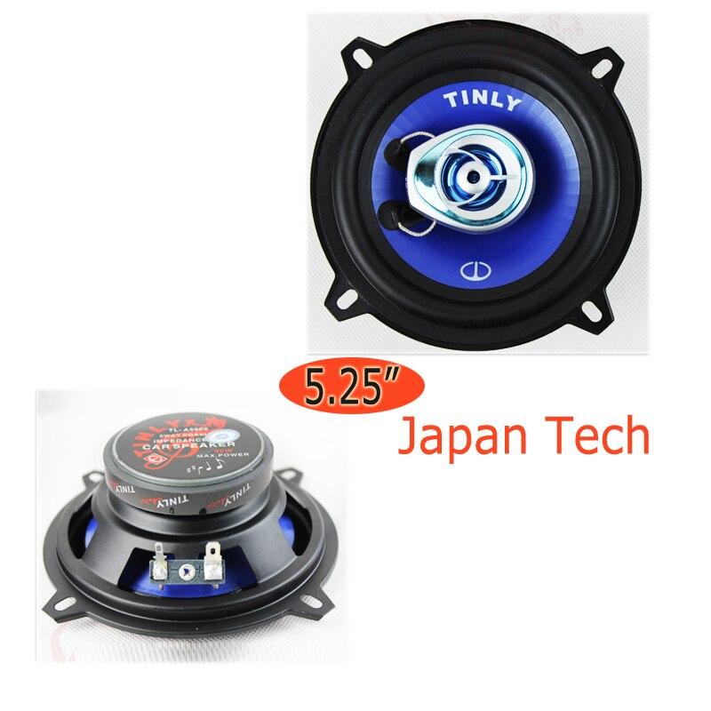 5 Car audio speakers 5.25 inch car speaker coaxial refires full-range tweeter louder speaker