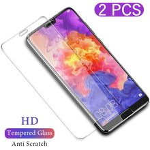2pcs/Lot Tempered Glass For Huawei Y9 2019 Y6 Y5 2018 Y7 Prime Y5II Y6II II Explosion Proof Screen Protector(China)
