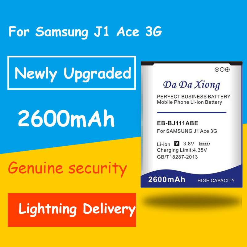 Free shipping <font><b>Battery</b></font> 2600mAh EB-BJ111ABE <font><b>Batteries</b></font> for <font><b>Samsung</b></font> Galaxy <font><b>J1</b></font> <font><b>Ace</b></font> 3G Duos J111F Replacement <font><b>battery</b></font> image