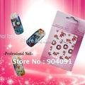 2015 HOTSALE 20 hoja/LOT Navidad Nail Sticker 22 estilos diferentes disponibles Del Clavo/Nail Art sticker + Separada embalado