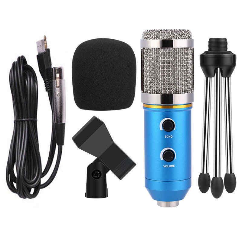 Ituf Professional Condenser USB Microphone BM900 for computer BM-800 Upgraded Audio Studio Vocal Recording KTV Adjustable volume